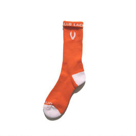 LACROSSE SOX NEON ORANGE