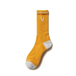 LACROSSE SOX YELLOW