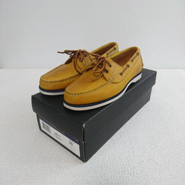 「POLO   RALPH  LAUREN」    Deck shoes 【yellow】