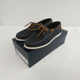 「POLO   RALPH  LAUREN」    Deck shoes 【blue】