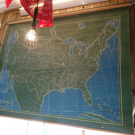 RAND McNALLY & COMPANY   CHALKBOARD   WORLD  map