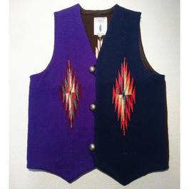 TRUJILLO'S  ×  VINTAGEAIR別注   3 COLOR    CHIMAYO  VEST