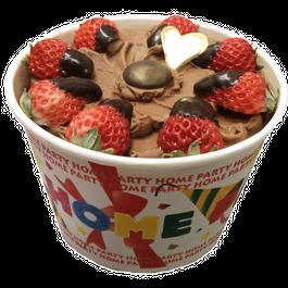 バケツタイプのジェラートケーキ アイスケーキ