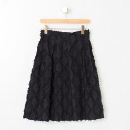 ジャガードスカート(ブラック)