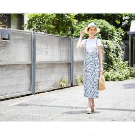 刺繍ジャンパースカート