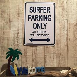 SURFER PARKING 看板