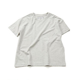 60/HIGHT GAGE TWILL CREW NECK TEE  S/SLEEVES (70-84013)