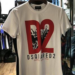 夏大人気 DSQUARED2Tシャツ 人気半袖 D2Tシャツ ディースク お買い得 送料無料