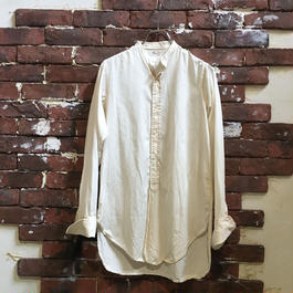 30s Collarless Shirt