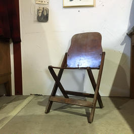 40s AMERICAN SEATING CO SCHOOL HOLDING CHAIR