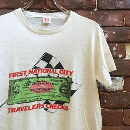 60-70's CHECKER FLAG RACE TEE