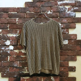 LADY'S S/S COTTON KNIT