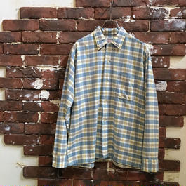 60S GIMBEL BROTHERS COTTON BOX SHIRT