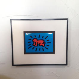 90's KEITH HERING POSTER