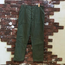 70S US ARMY COTTON BAKER PANTS