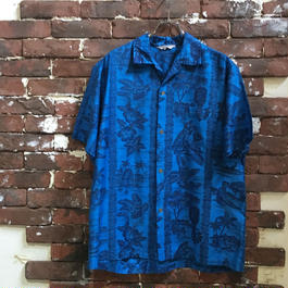 70S COTTON HAWAIIAN SHIRT
