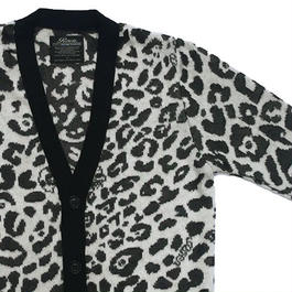 LEOPARD LONG KNIT C/D