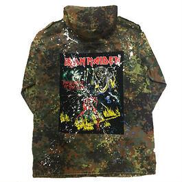 Band Tee remake JKT(Iron Maiden)