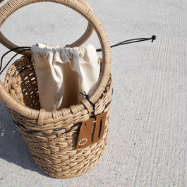 TSUTSU bag BEIGE