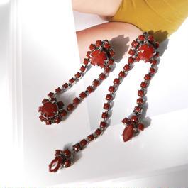 asymmetry pierce/earrings TERRACOTTA
