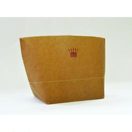 WAX PAPER MARCHE BAG  crown
