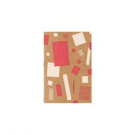RO-BIKI NOTE Red squares
