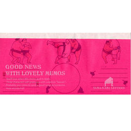 GOOD NEWS WITH LOVELY MEMOS O-Y08