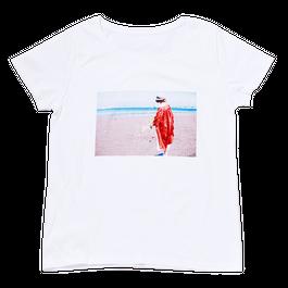 『夏の海と、花束と私。』Tシャツ(レディースサイズ)