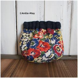 バネ口ポーチ(⑤Antie-May)