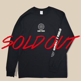「SAINT PABLO TOUR」LONG SLEEVE T-SHIRT  / BLACK (送料込み)