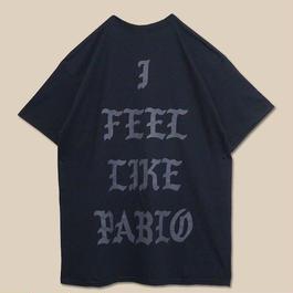 「I FEEL LIKE PABLO BLACK T SHIRT」-CHICAGO- / (送料込み)