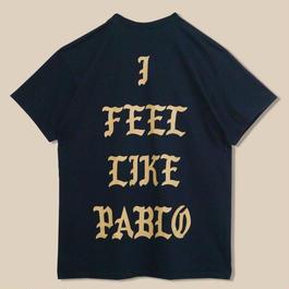 「I FEEL LIKE PABLO BLACK T SHIRT」-NEW YORK- / (送料込み)