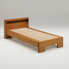 組子ベッド / ここちe (シングル 長板仕様)