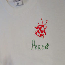 Peace T-shirts(キッズ)
