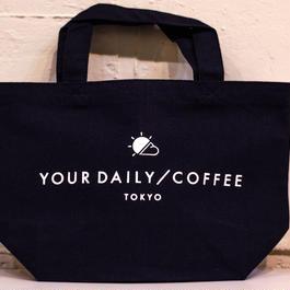YOUR DAILY COFFEE オリジナルミニトート ネイビー