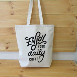 YOUR DAILY COFFEE オリジナルトート 大