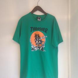 THRASHER / PUS HEAD S/S
