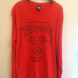 STUSSY / L/S T-Shirts