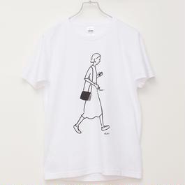 T-shirt Girl01    -White-