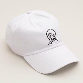 刺繍 Cap Girl    -White-