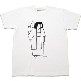 T shirts - 岸田劉生  by Yu Nagaba - white