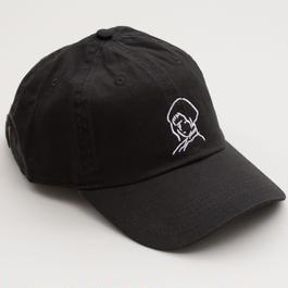 刺繍 Cap Girl    -Black-