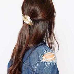 #Leaf Motif Hair Elastic リーフモチーフヘアゴム