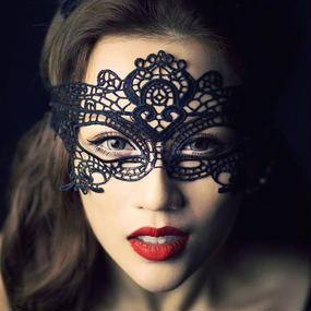 #Black Lace Mask ブラックレースマスク