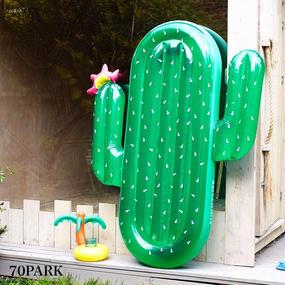 #Cactus Pool Float  サボテン ビッグ フロート浮き輪  180cm  グリーン