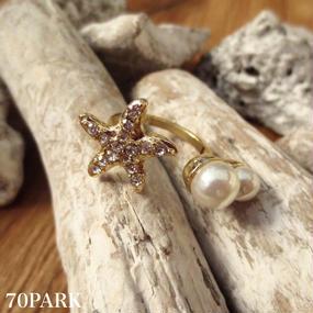 #Starfish Pearl Ring ヒトデパールリング