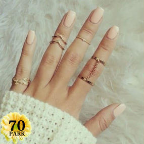 #Phalange Ring 6 Set ファランジリング6点セット