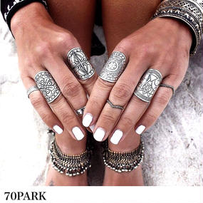#Silver ring 2 set ネイティブシルバーリング2点セット