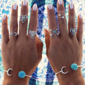 #Silver × Turquoise bracelet シルバー×ターコイズブレスレット