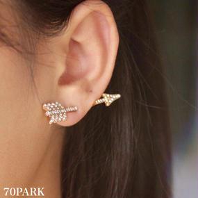 #Arrow motif pierced earring  アローピアス